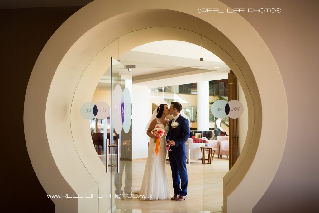 Artistic wedding picture in Cyprus