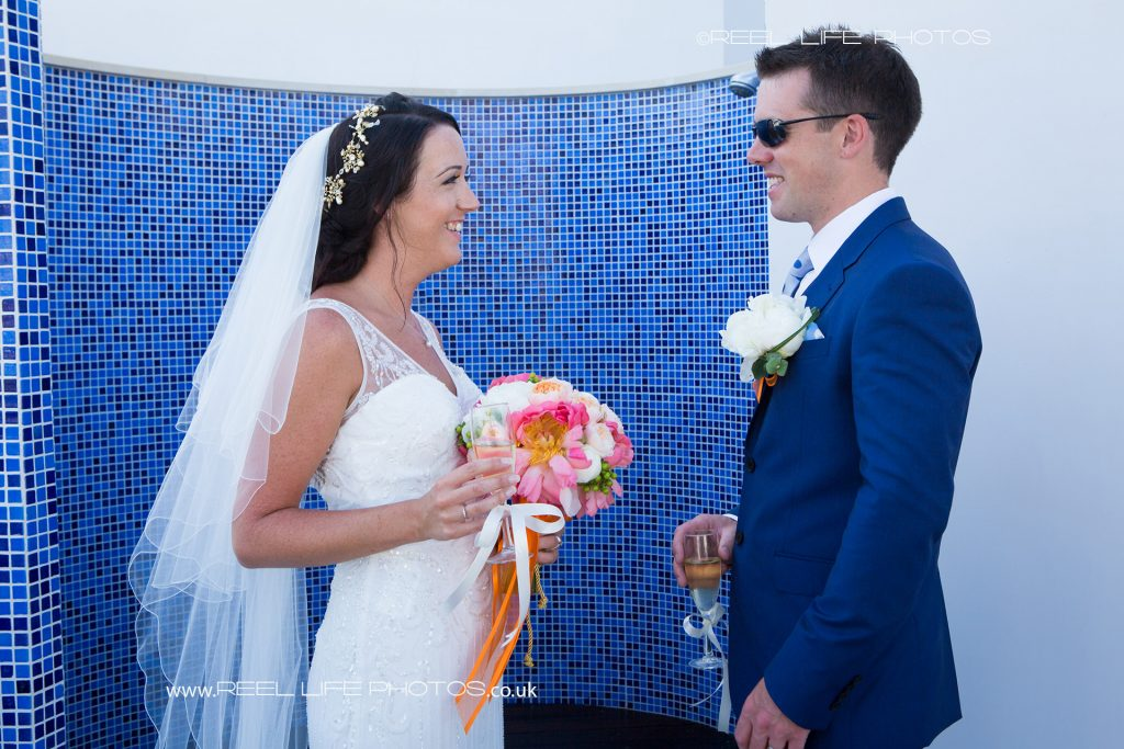 Wedding photography at the Olympic Lagoon in Cyprus