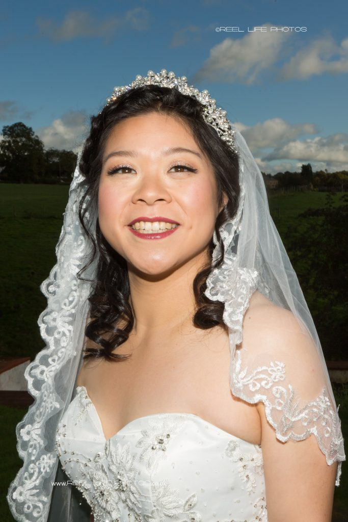 Chinese bridal portrait